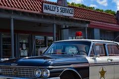 Wally ` s加油站 库存图片