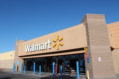 Walmart Στοκ φωτογραφία με δικαίωμα ελεύθερης χρήσης