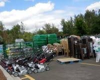 Walmart al aire libre foto de archivo libre de regalías