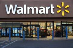 Walmart Califórnia fotografia de stock royalty free