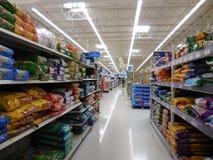 Walmart-Insel Stockbilder