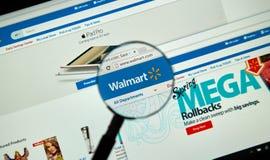 Walmart-Internet-Seite Lizenzfreie Stockfotos