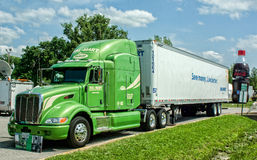 Walmart Lorry Royalty Free Stock Image