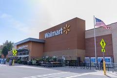 Walmart sklep w Portland, Oregon, usa Obrazy Stock