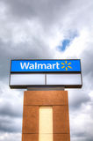Walmart Store Sign Royalty Free Stock Photography