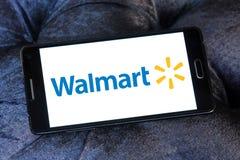 Walmart stores logo Stock Image