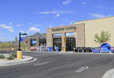 Walmart Supercenter Outdoor Living Center Royalty Free Stock Photo