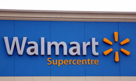 Walmart Supercentre Stock Photography