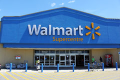 Walmart Supercentre Royalty Free Stock Images