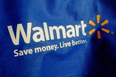 WALMART torba na zakupy Zdjęcia Stock