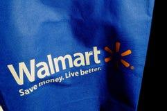 WALMART torba na zakupy Obrazy Royalty Free