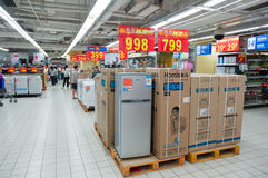 Walmart in Zhongshan China Stock Photos