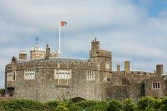 Walmer城堡,肯特,英国 库存照片