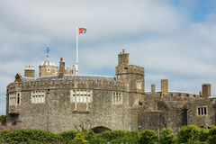 Замок Walmer, Кент, Англия Стоковые Фото