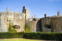 Walmer castle in England. Royalty Free Stock Images