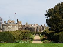 Walmer Castle and Garden at Kent, England, UK. Architecture, historical royalty free stock photo
