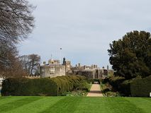 Walmer Castle and Garden at Kent, England, UK. Architecture, historical stock photos