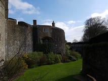 Walmer Castle at Kent, England, UK. Architecture, historical stock photos