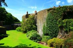 Walmer kasztel Kent Zjednoczone Królestwo Zdjęcie Royalty Free