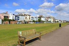 Walmer Seaside Promenade Kent England Stock Photography
