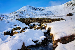 Walna Scar Packhorse Bridge Royalty Free Stock Photos