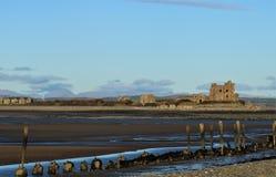 Piel Castle Cumbrian Coast UK. royalty free stock images