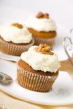Walnuss-Muffins Lizenzfreie Stockfotos