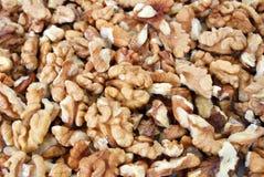 Walnut. Close view of fresh walnut Stock Photos
