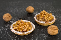 Walnut almond cookies Royalty Free Stock Images