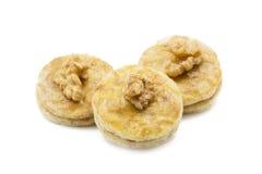 Walnut apricot cookies Stock Photo