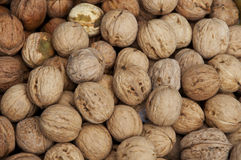 Walnut background Stock Photography