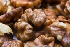 Walnut background Stock Photography
