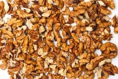 Walnut background Stock Photo