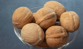Walnut is beautiful stock images
