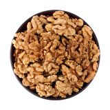 Walnut in the bowl Royalty Free Stock Photo