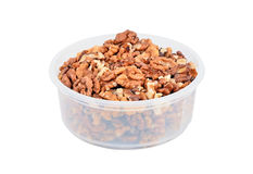 Walnut in bowl Royalty Free Stock Image
