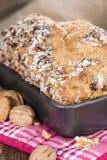 Walnut Bread (fresh baked) Stock Photo