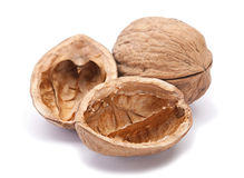 Walnut brown Royalty Free Stock Photography