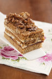 Walnut cake Stock Images