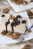 Walnut Cake with Marzipan Stock Photos