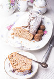 Walnut cake Stock Image