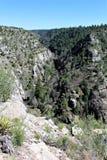 Walnut Canyon. Cliffs at Walnut Canyon, National Monument in Arizona royalty free stock photo