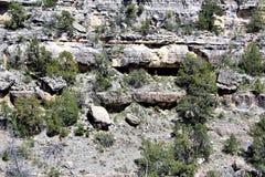 Walnut Canyon. Clift dwellings at Walnut Canyon, National Monument in Arizona royalty free stock photography