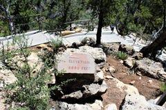 Walnut Canyon. Hiking trail at Walnut Canyon, National Monument in Arizona stock photography