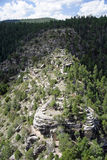 Walnut Canyon Landscape Stock Photography