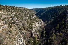 Walnut Canyon National Monument Stock Images