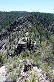 Walnut Canyon. National Monument in Arizona stock photos