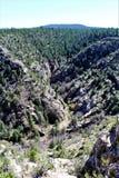 Walnut Canyon. National Monument in Arizona stock image