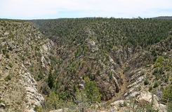 Walnut Canyon NM Royalty Free Stock Photography