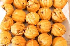 Walnut Cookies, Sweet Memories close up Stock Image